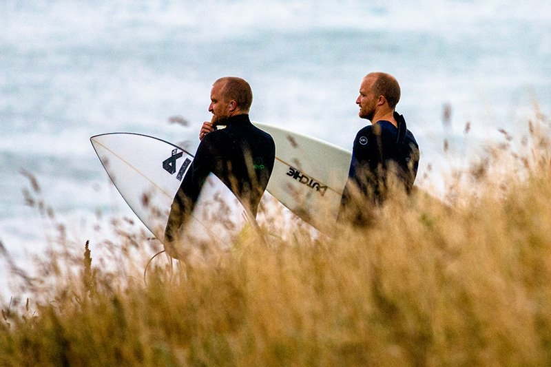 Will and Sam Boex are long time surfers