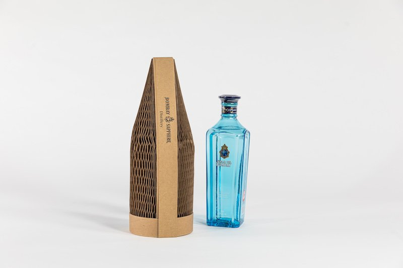 Flexi-Hex packaging for Bombay Sapphire Gin