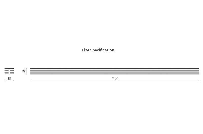 Flexi-Hex Lite Dimensions