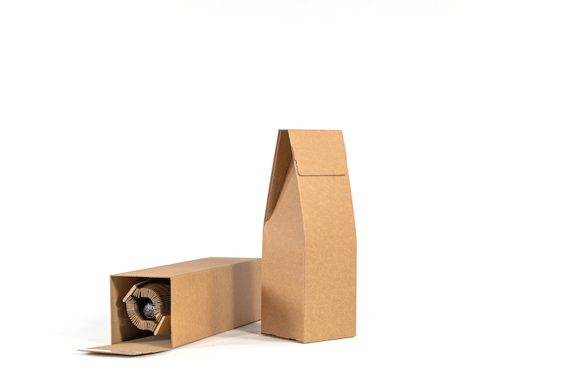 Flexi-Hex Plastic Free Packaging for Posting Bottles