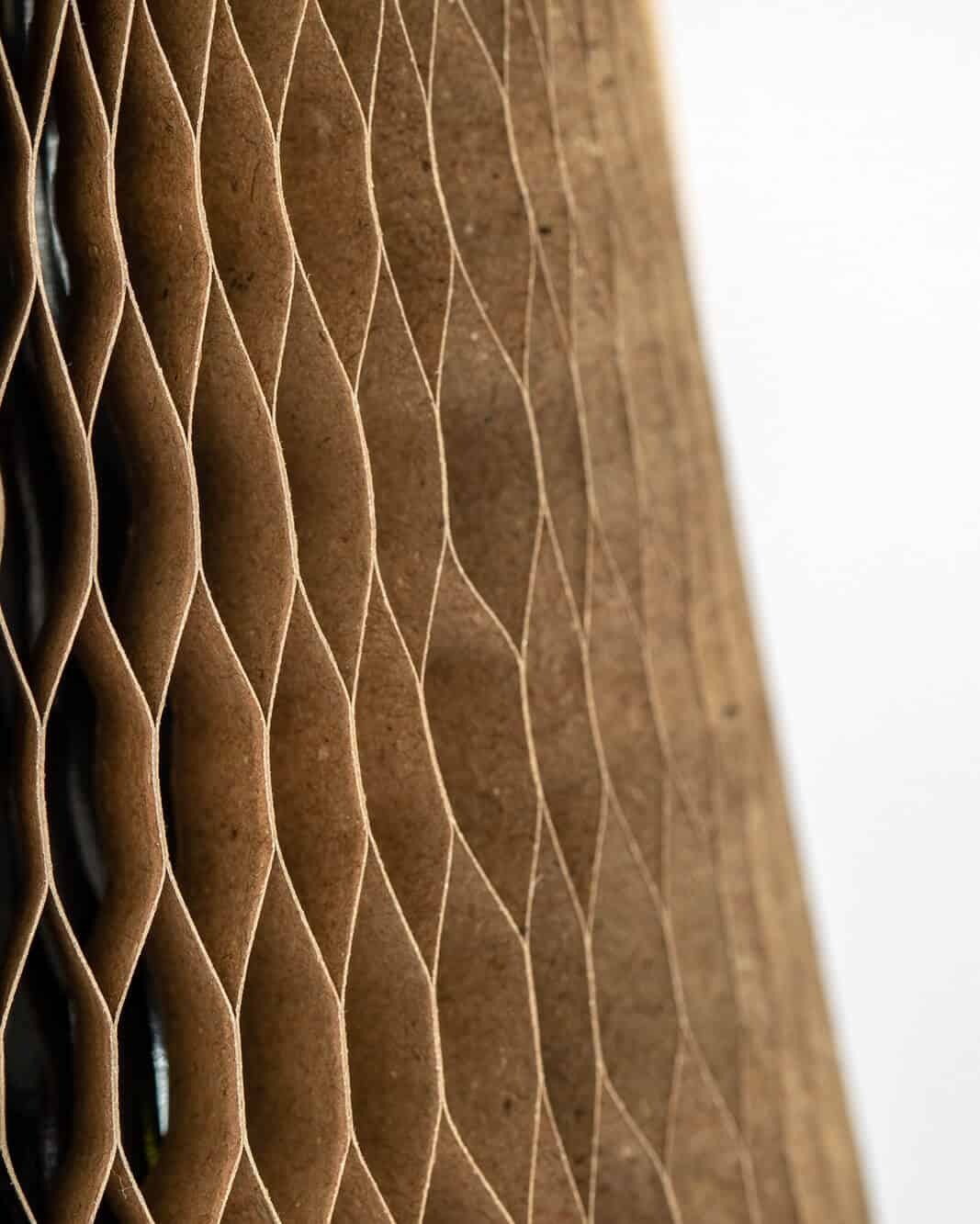 Honeycomb material used in Flexi-Hex sustainable packaging