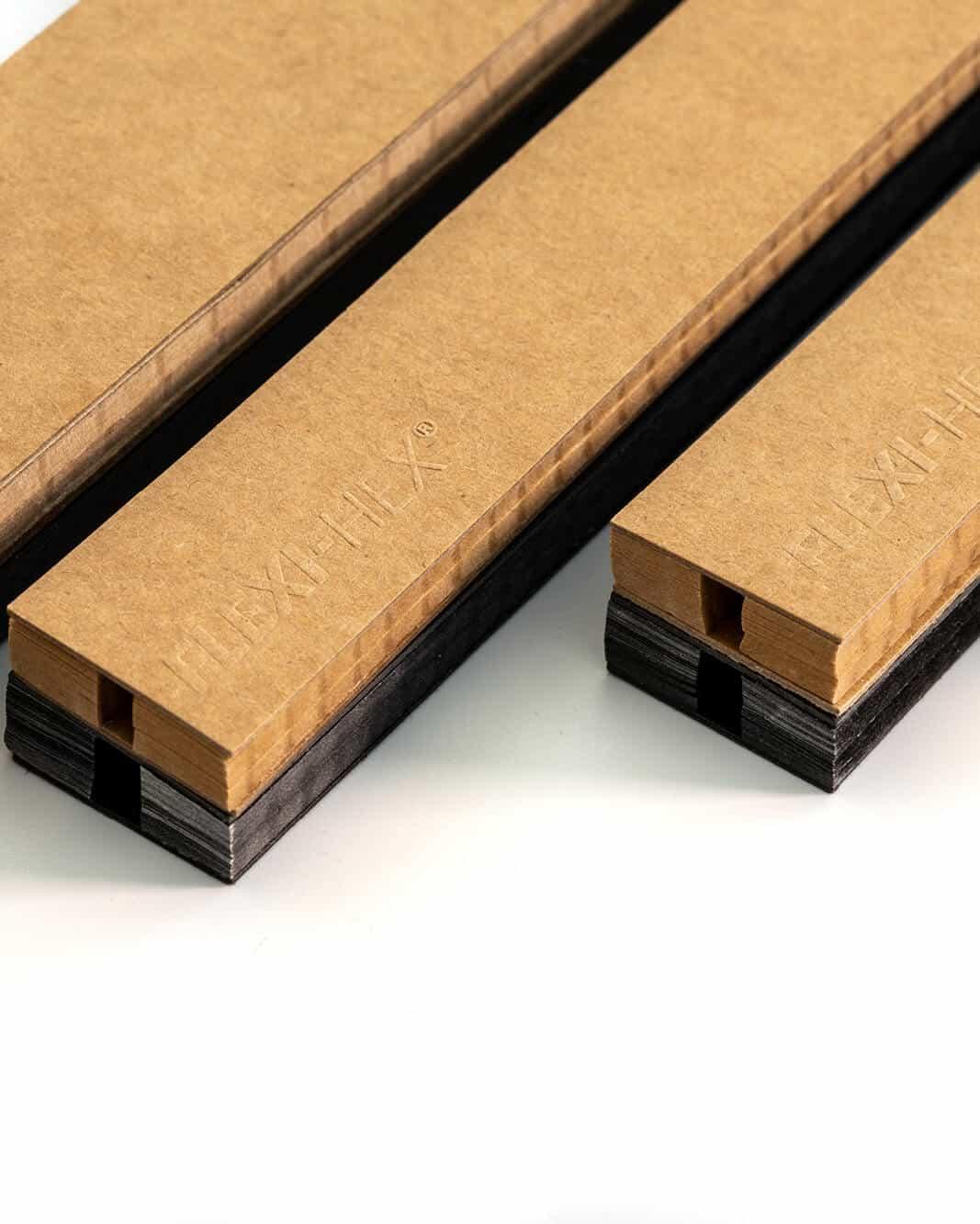 Lite boardsport packaging sleeve being cut