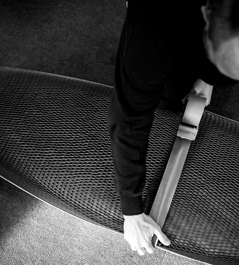 Flexi-Hex was born with boardsports