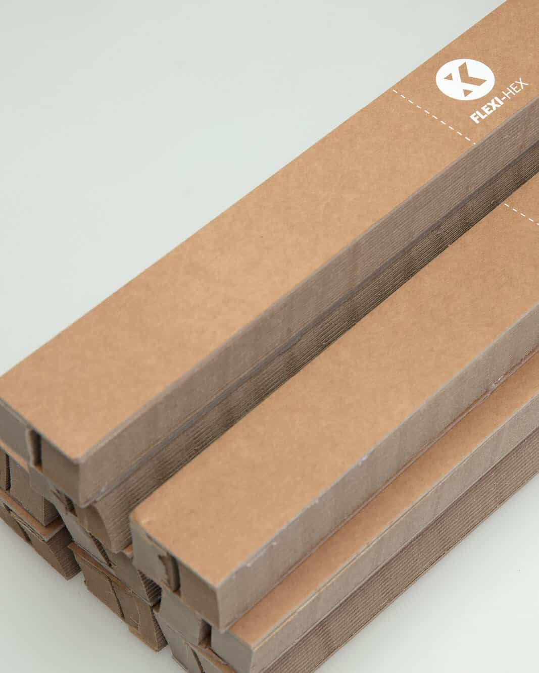 Cardboard surfboard packaging sleeve