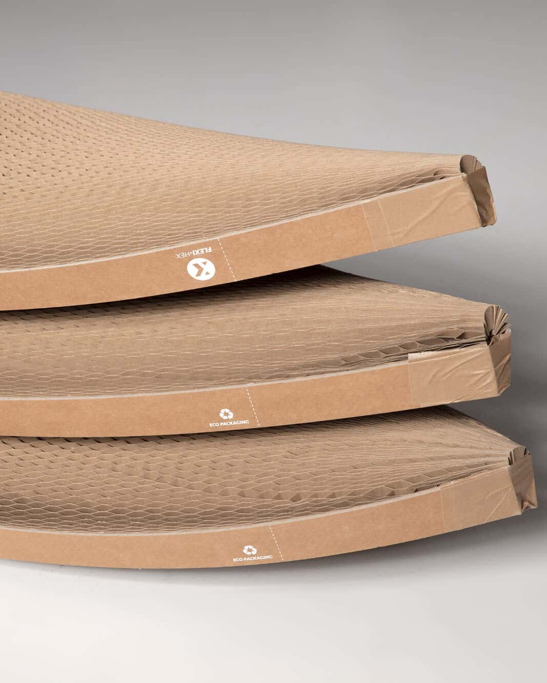 3 surfboards packaged in Flexi-Hex