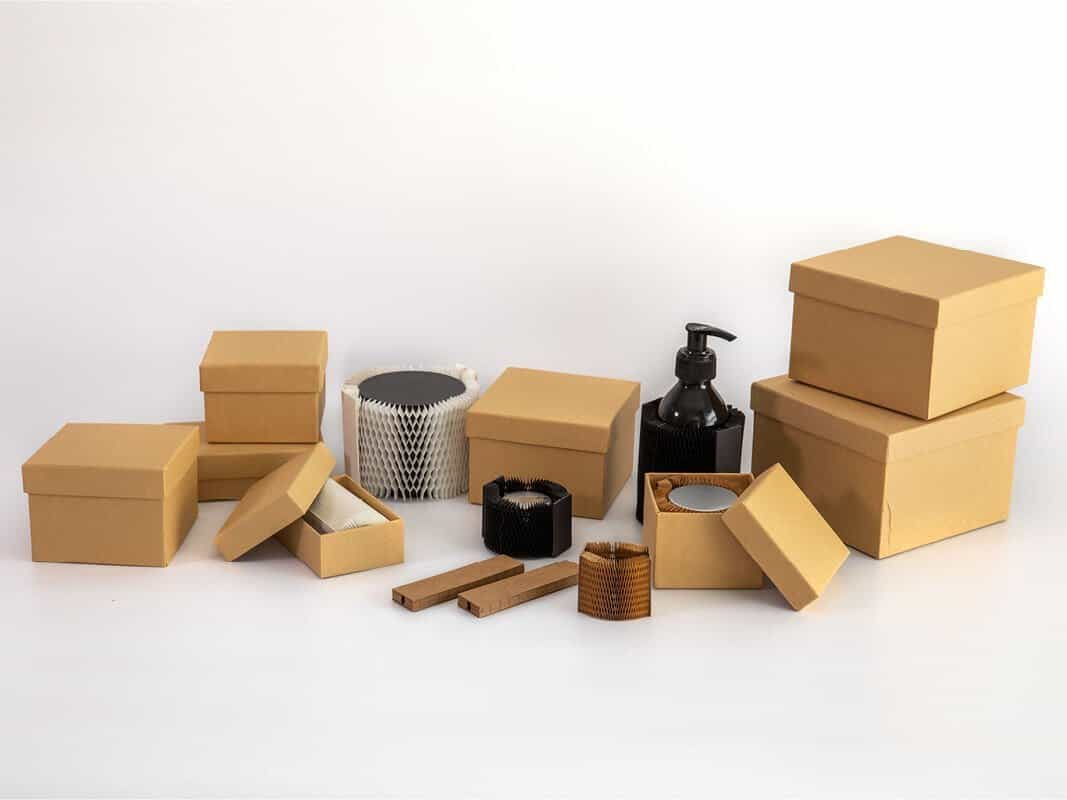 Flexi-Hex packaging comes in a variety of shapes and sizes