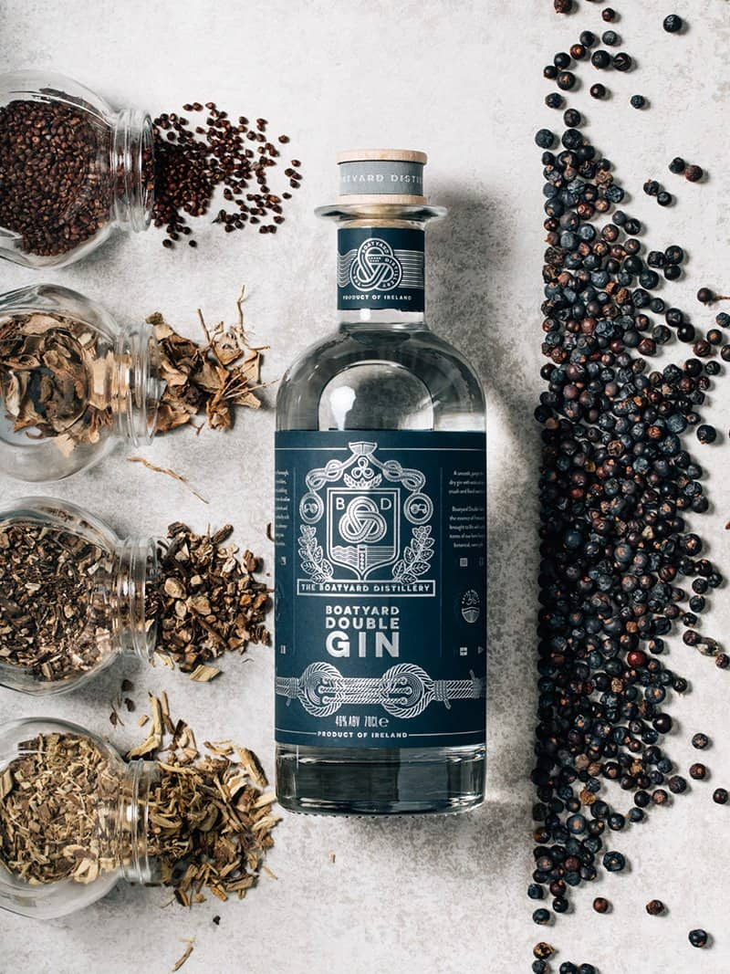 Boatyard Distillery Organic Sustainable Ingredients