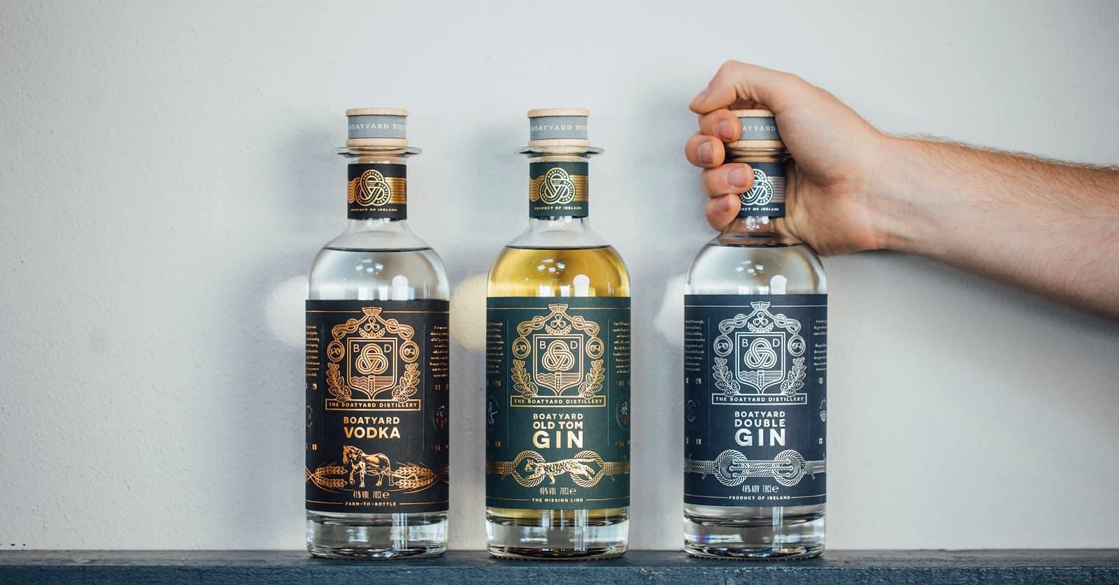 Boatyard Distillery Sustainable Gin & Vodka