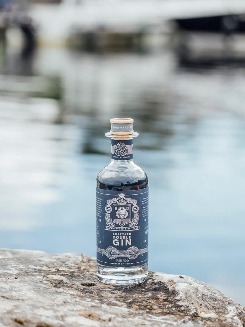 Boatyard Distillery Sustainable Gin by Sea