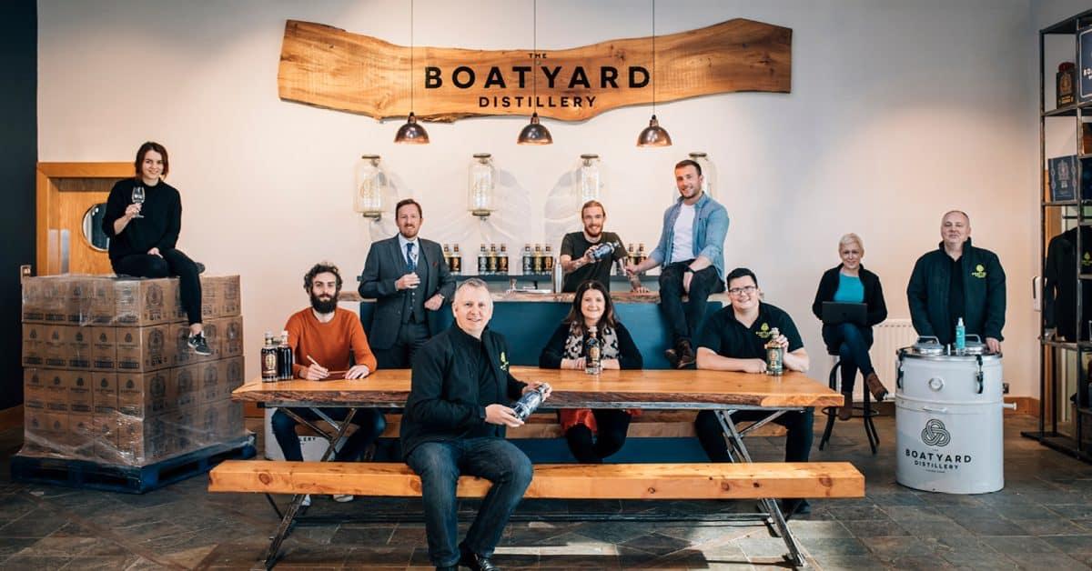 Boatyard Distillery Team Photo