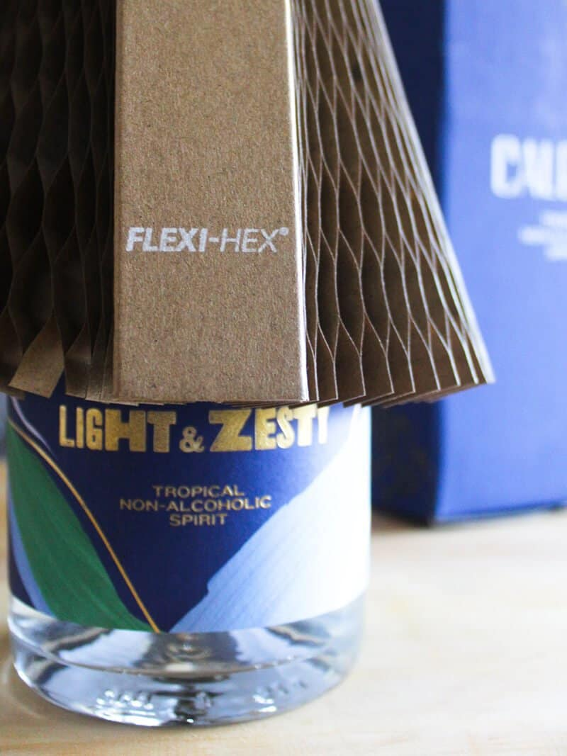 Caleno drinks in Flexi-Hex packaging