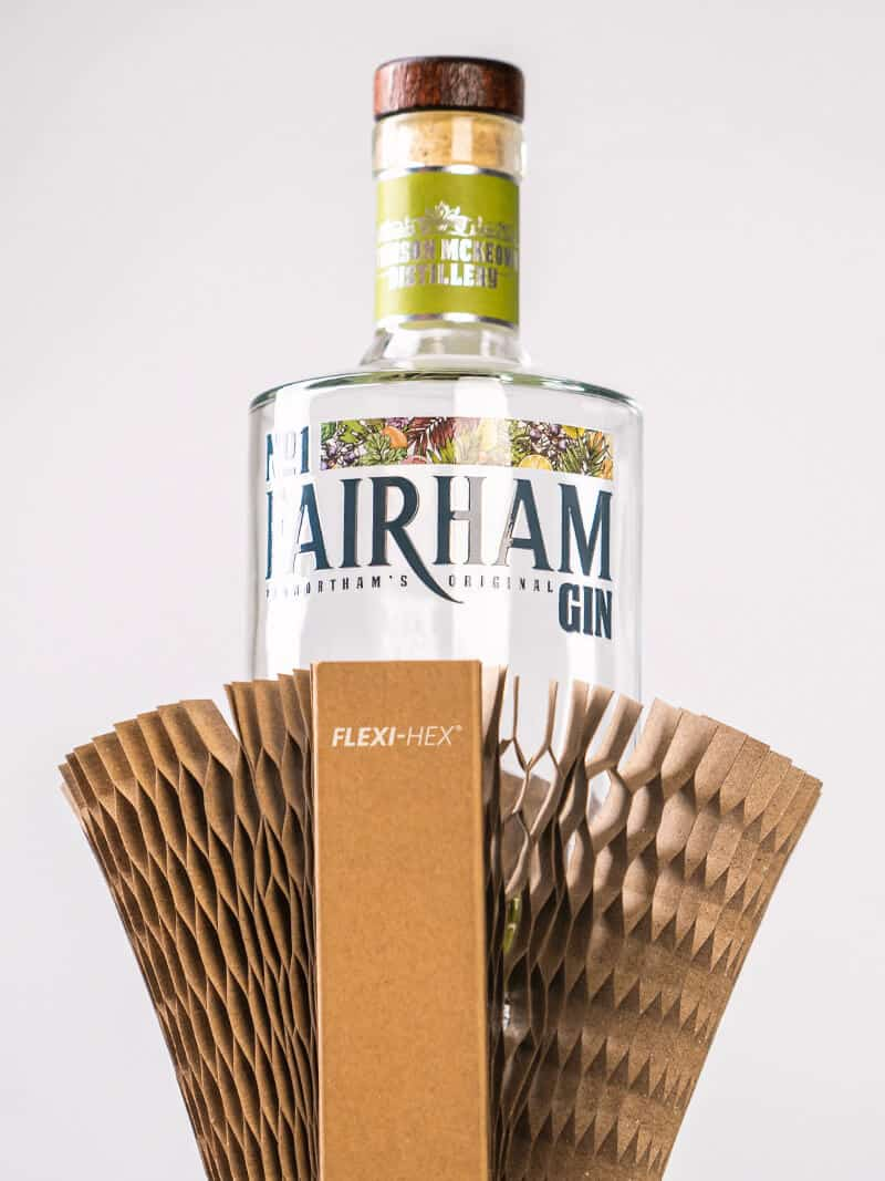 No1 Fairham Gin Sustainable Eco-Friendly Gin Bottle Packaging