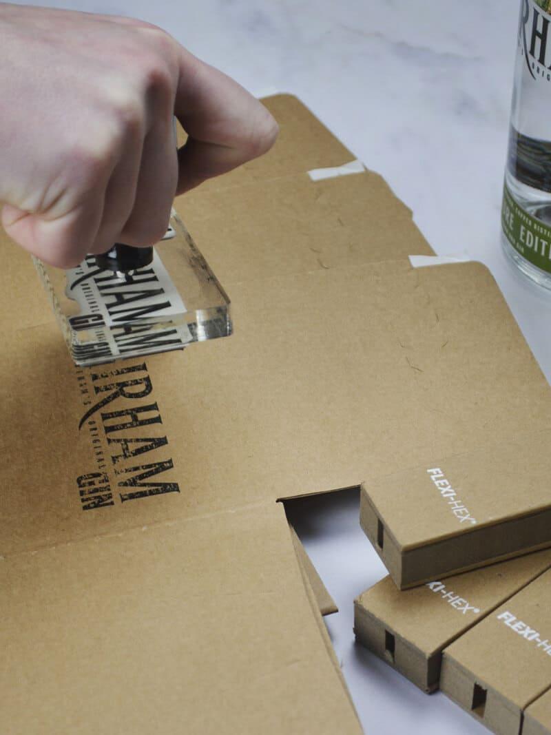 No1 Fairham Gin Sustainable EcoFriendly Bottle Packaging
