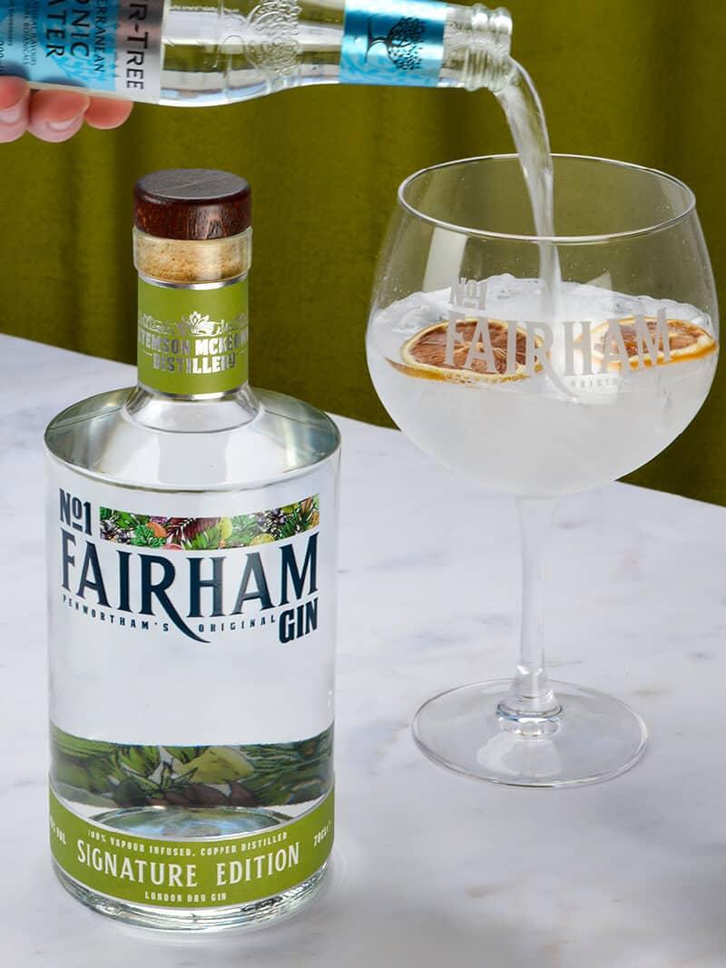 No1 Fairham Gin Sustainable EcoFriendly Gin & Tonic