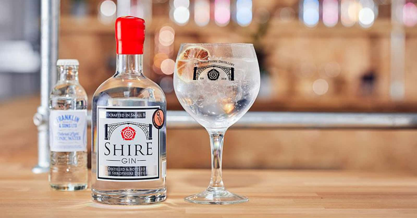 Shropshire Gin Sustainable Bottle Packaging