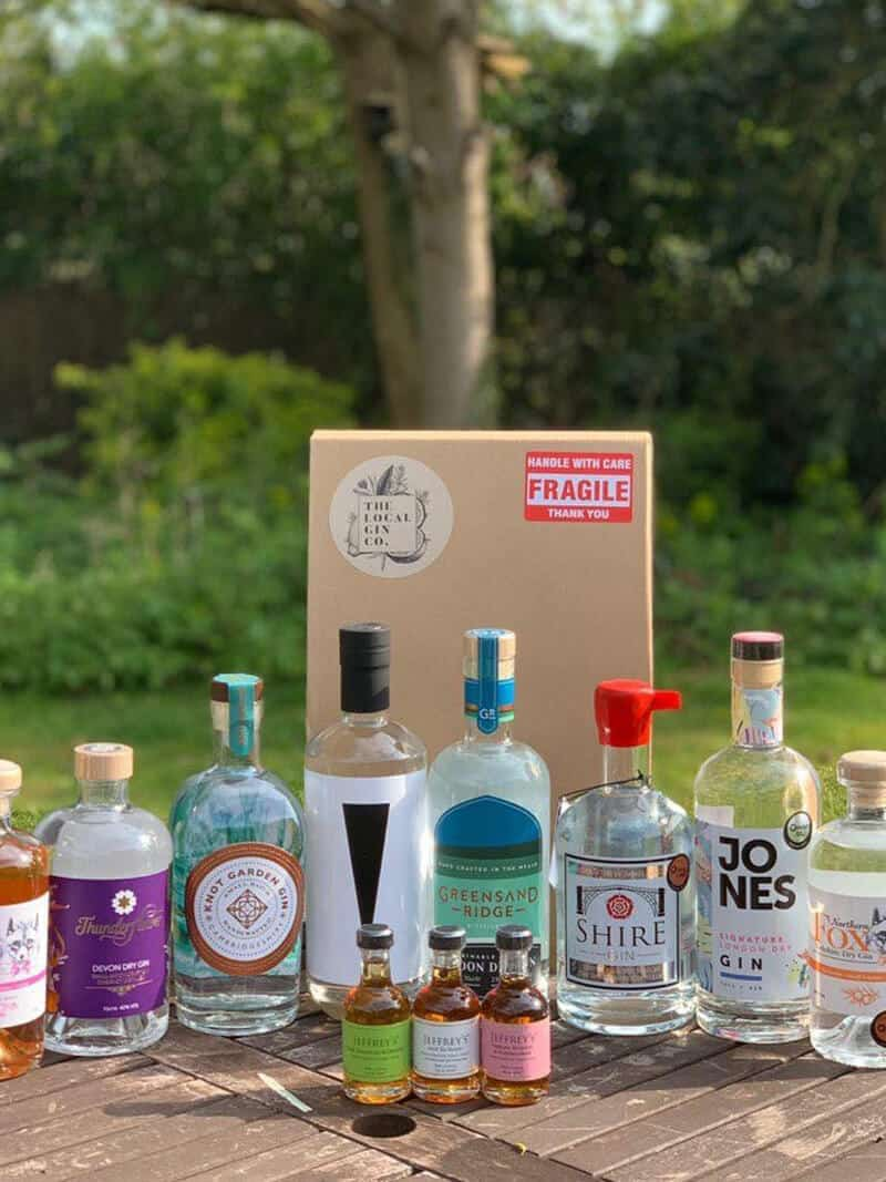 The Local Gin Company Sustainable Bottle Packaging