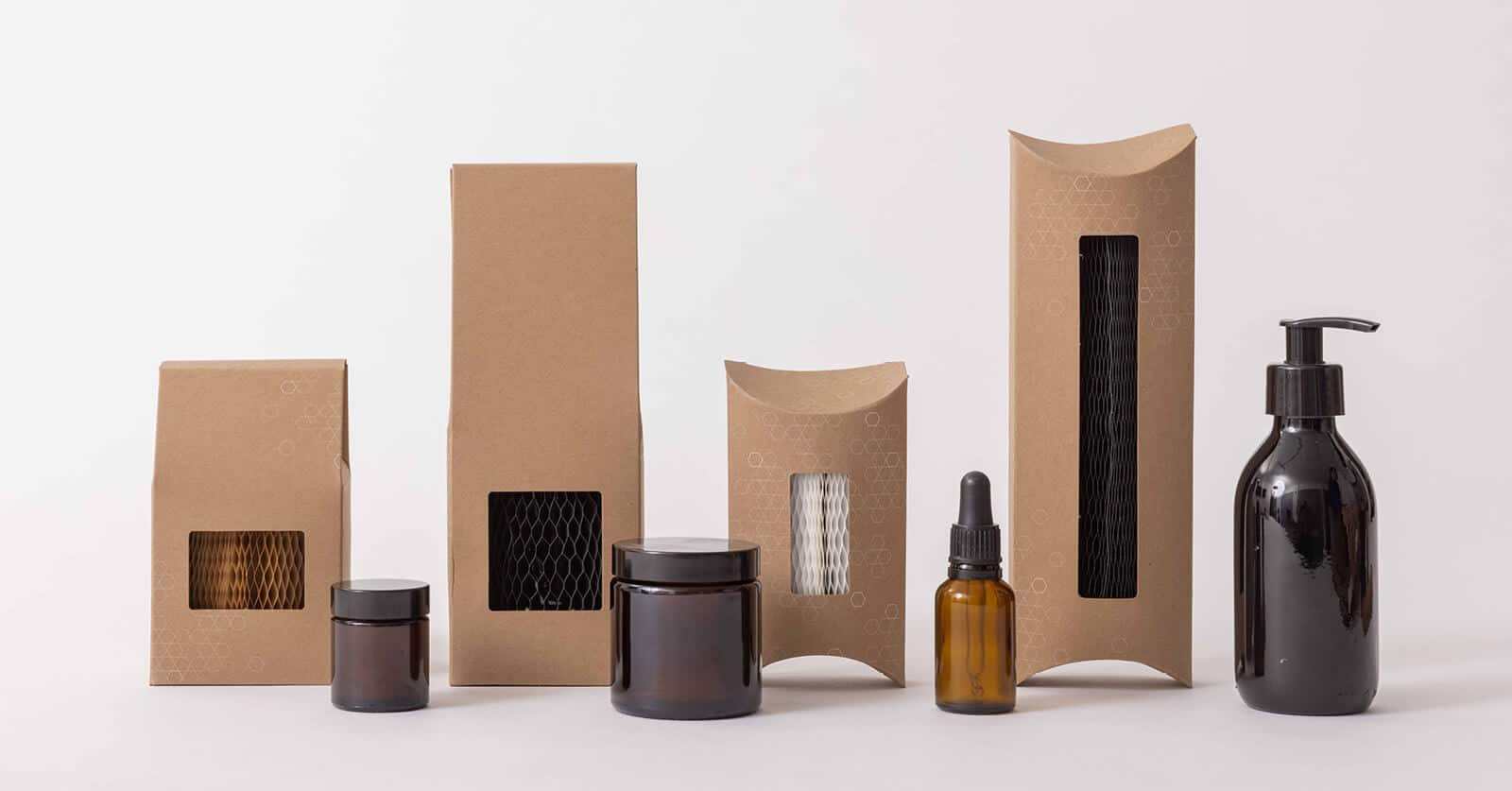 Flexi-Hex Air Sustainable & Eco Friendly Cosmetics Packaging Solutions