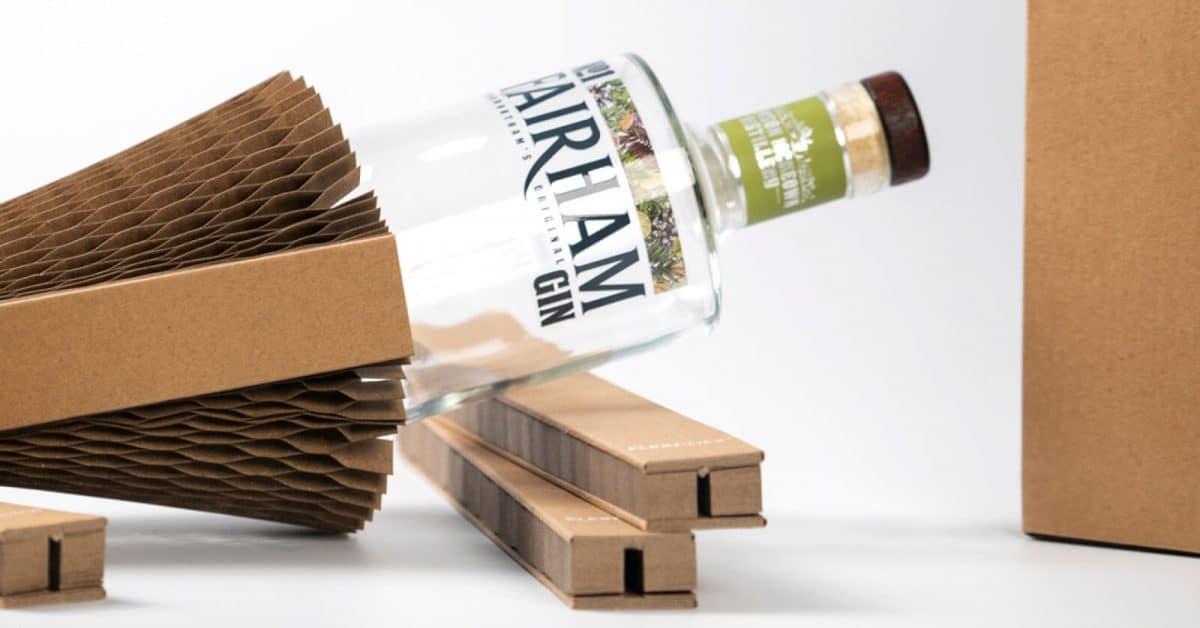 No1 Fairham Gin Sustainable EcoFriendly Gin Bottle Packaging