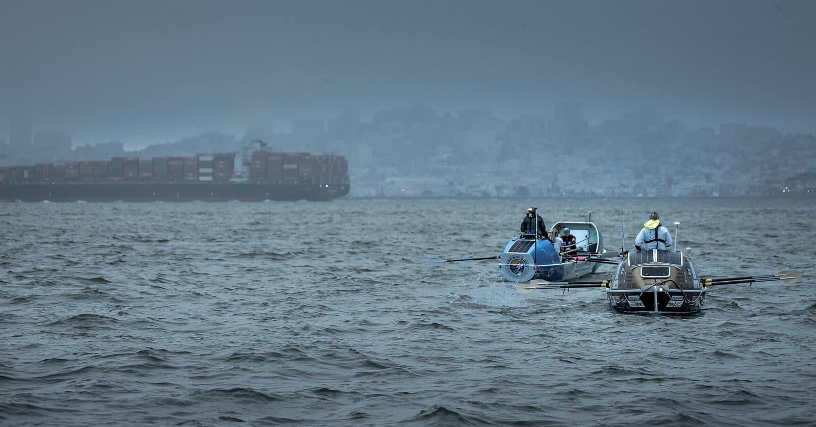 Ocean Sheroes Great Pacific Rowing Race for charity