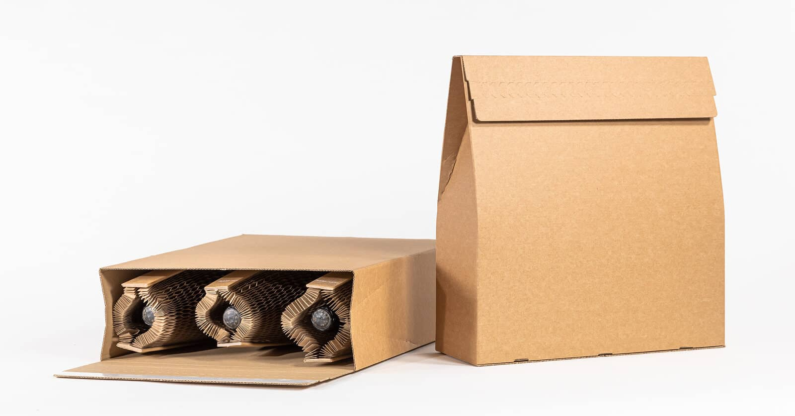 Flexi-Hex Sustainable Recyclable Plastic-Free Packaging