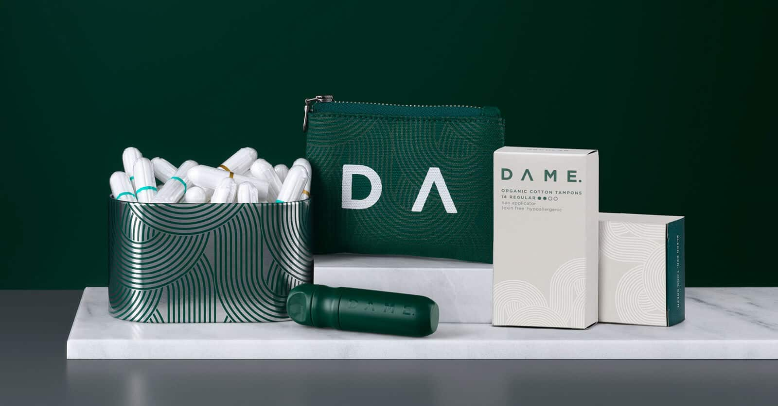 DAME Sustainable Plastic Free Period Products