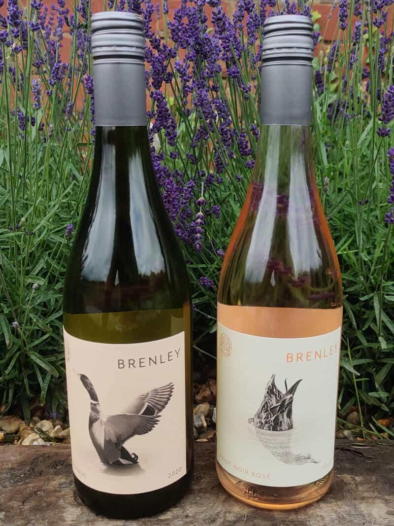 Celebrating Brenley Wine Sustainable Bottle Packaging English Wine Week 2021