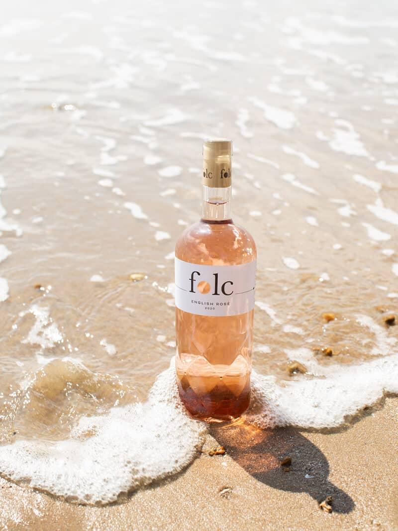 Celebrating Sustainable Folc Rose Wine this English Wine Week