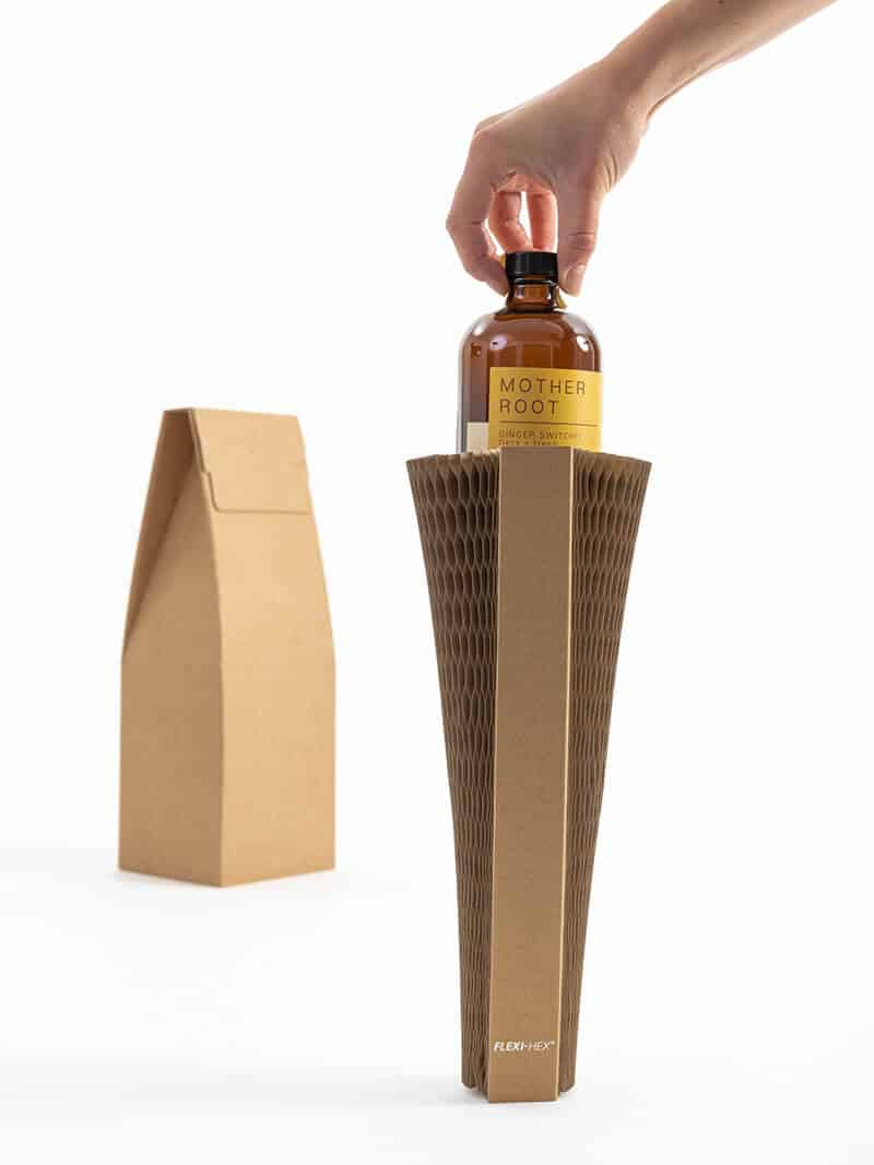 Mother Root Sustainable Bottle Packaging