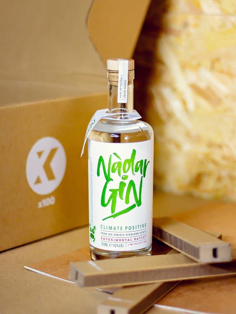 Flexi-Hex Eco-Friendly Bottle Packaging for Arbikie Distillery