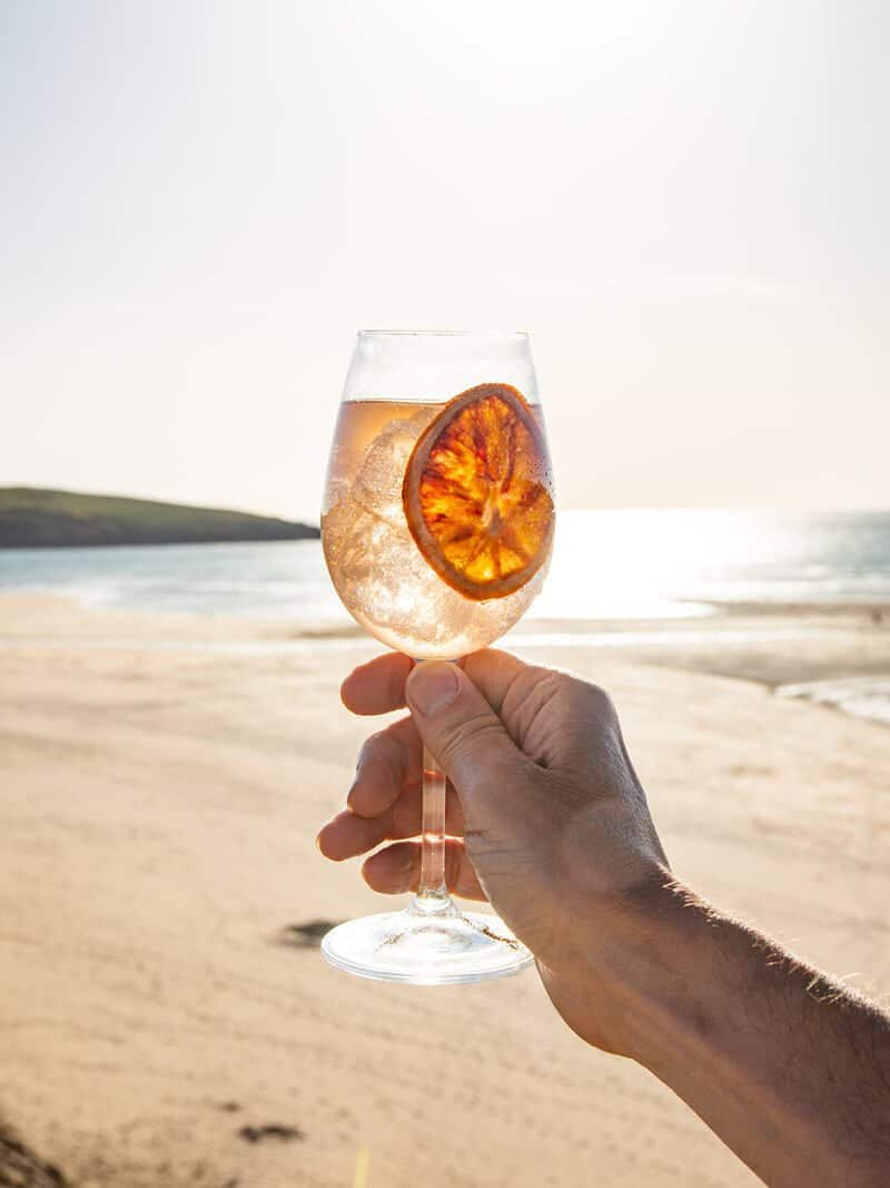 Tarquin's Sustainable Gin Cocktails in Cornwall