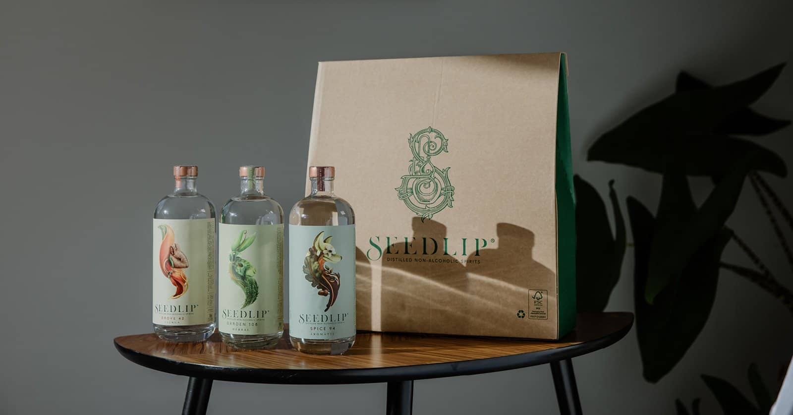 Seedlip Zero-Alcohol Drinks for Sober October